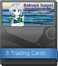 Sakuya Izayoi Gives You Advice And Dabs Booster-Pack