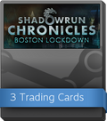 Shadowrun Chronicles - Boston Lockdown Booster-Pack
