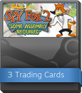 SPY Fox 2: Some Assembly Required Booster-Pack