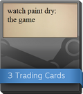 Watch paint dry Booster-Pack