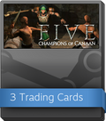 FIVE: Champions of Canaan Booster-Pack