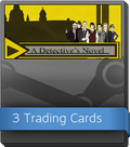 A Detective's Novel Booster-Pack