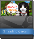 Konrad the Kitten - a virtual but real cat Booster-Pack