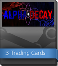 Alpha Decay Booster-Pack