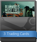 All Walls Must Fall Booster-Pack