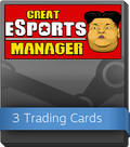 Great eSports Manager Booster-Pack