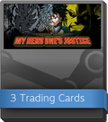MY HERO ONE'S JUSTICE Booster-Pack