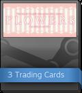 Flowers -Le volume sur ete- Booster-Pack