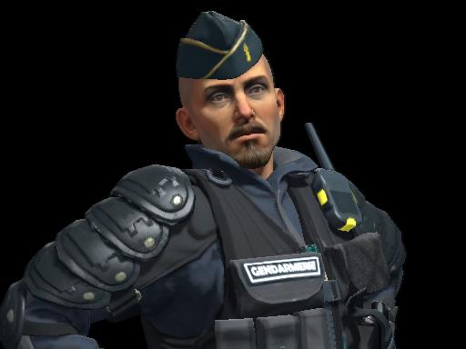 Officer Jacques Beltram | Gendarmerie Nationale