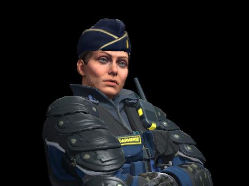 Chef d'Escadron Rouchard | Gendarmerie Nationale