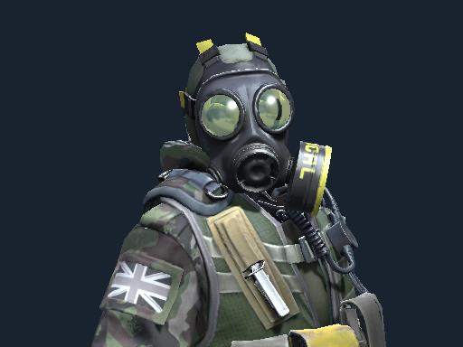 Офицер отряда B | SAS