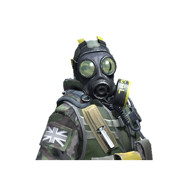 Oficer Szwadronu B SAS