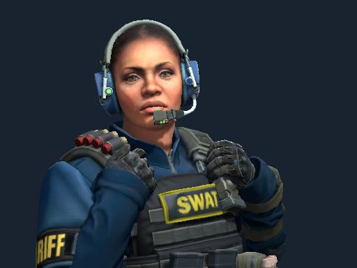 Cmdr. Mae 'Dead Cold' Jamison   SWAT