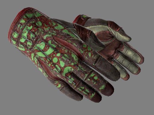 Sport Gloves | Bronze Morph Battle-Scarred