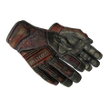 ★ Specialist Gloves | Crimson Web <br>(Battle-Scarred)