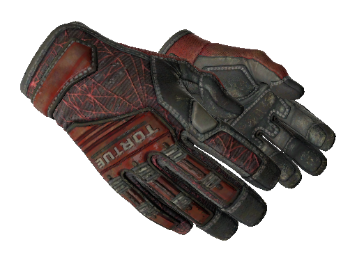 Specialist Gloves | Crimson Web Field-Tested