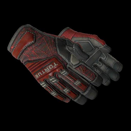Specialist Gloves | Crimson Web - gocase.pro