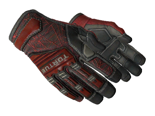 Specialist Gloves | Crimson Web Minimal Wear