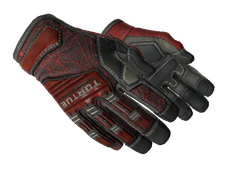 Skin ★ Specialist Gloves | Crimson Web