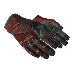 ★ Specialist Gloves | Crimson Web (Minimal Wear)