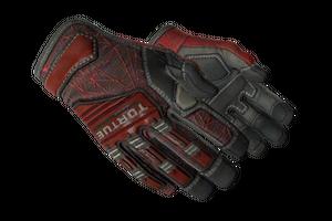 Specialist Gloves Crimson Web Minimal Wear