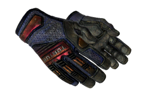 Specialist Gloves Fade Battle Scarred