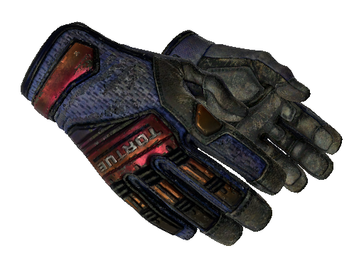 ★ Specialist Gloves | Fade (Battle-Scarred)