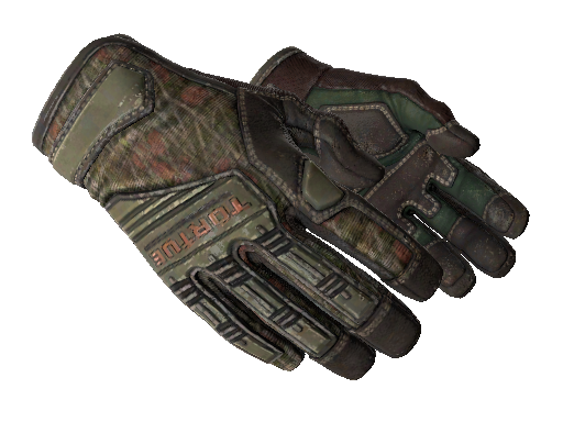 ★ Specialist Gloves | Buckshot (Well-Worn)