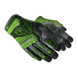 ★ Specialist Gloves | Emerald Web (Minimal Wear)