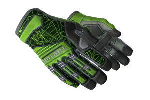 Specialist Gloves Emerald Web Minimal Wear