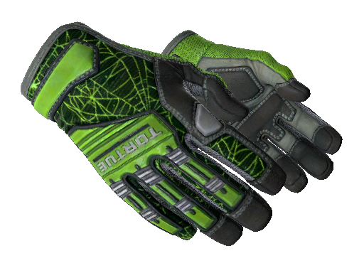 ★ Specialist Gloves | Emerald Web Minimal Wear