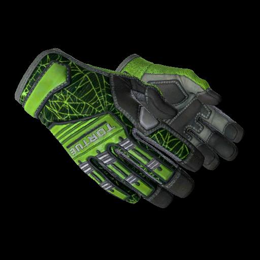 Specialist Gloves | Emerald Web - gocase.pro