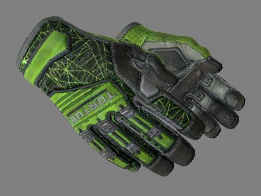 ★ Specialist Gloves   Emerald Web