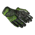★ Specialist Gloves | Emerald Web <br>(Battle-Scarred)