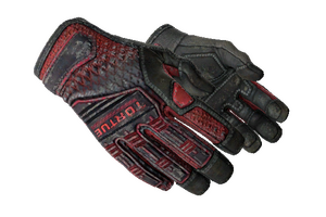 Specialist Gloves Crimson Kimono Battle Scarred