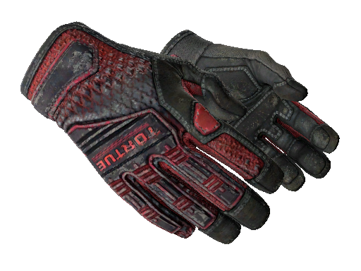 ★ Specialist Gloves | Crimson Kimono Battle-Scarred
