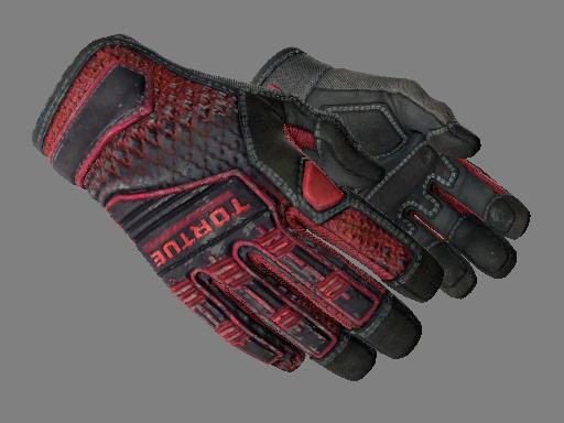 Specialist Gloves | Crimson Kimono Field-Tested