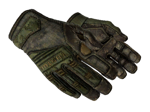 Specialist Gloves | Forest DDPAT Battle-Scarred