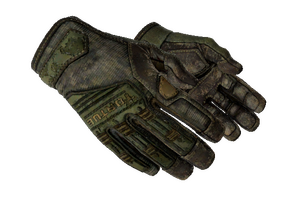 Specialist Gloves Forest Ddpat Battle Scarred