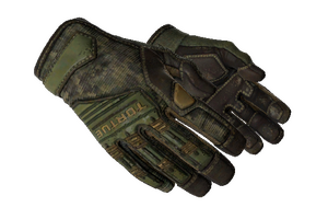 Specialist Gloves Forest Ddpat Well Worn