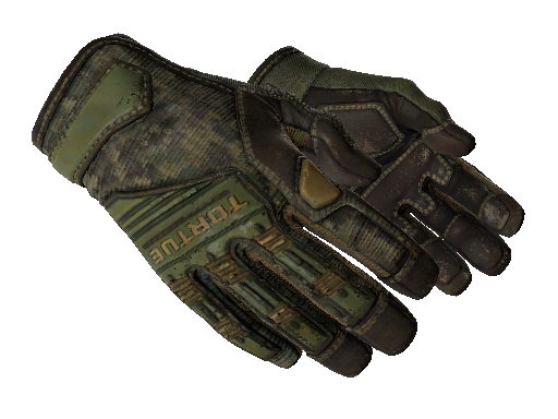 ★ Specialist Gloves | Forest DDPAT (Well-Worn)