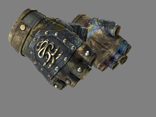 ★ Перчатки «Гидра» | Поверхностная закалка (Закаленное в боях)