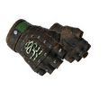 ★ Hydra Gloves | Emerald <br>(Battle-Scarred)