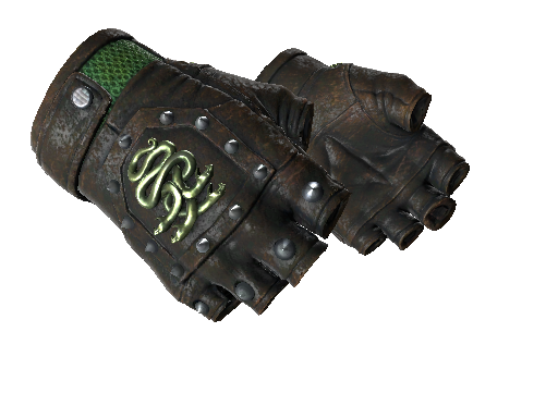 ★ Hydra Gloves | Emerald (Well-Worn)