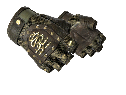 ★ Hydra Gloves | Rattler (Well-Worn)