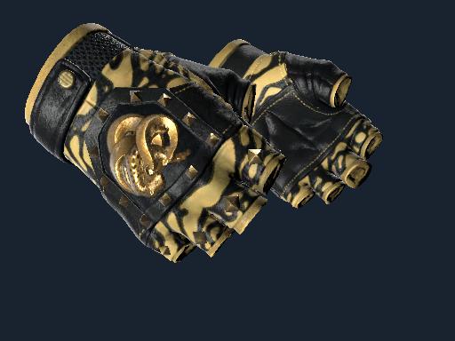 ★ Broken Fang Gloves   Yellow-banded
