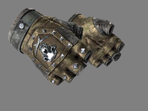 ★ Bloodhound Gloves | Bronzed (Battle-Scarred)
