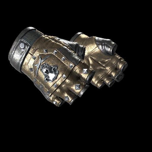 Bloodhound Gloves   Bronzed - gocase.pro