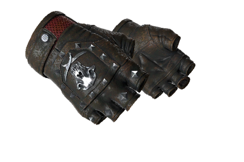 Buy ★ Bloodhound Gloves | Charred (Well-Worn)