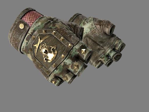 Bloodhound Gloves | Guerrilla Battle-Scarred